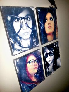 Easier, Cheaper, Quicker Photo to Canvas Transfer | Mommy MoonBlossom