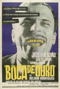 Cartaz de Boca de Ouro (1962)