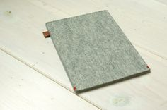 KINDLE PAPERWHITE cover - wool felt in Grey - Ereader sleeve, case Sony prst2, Kobo Aura, Glo, Touch, Kindle 4, Handmade in Holland on Etsy, $33.51