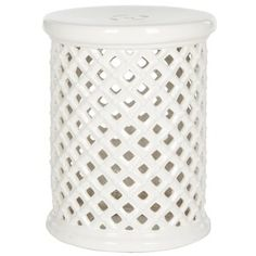 Shop for Safavieh Isola Cream Garden Stool. Get free shipping at Overstock.com - Your Online Garden