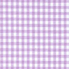 """Lilac 1/8"""" Gingham. for esthers canopy and bedskirt"""