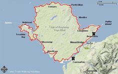 Anglesey Coastal Path<br />Length: 128 miles/200km