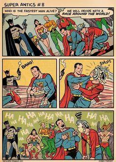 LOL DC heros