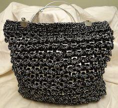 Soda Can Tab Crochet Bag/Purse