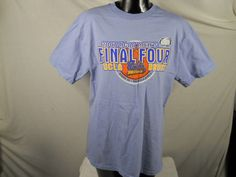 UCLA Bruins Final Four 2007 NCAA Basketball T-shirt Champion Brand Size Large Blue Color Shirt - http://raise.bid/store/clothing/bruins-basketball-champion/
