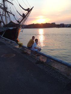 Drengene og jeg i gøteborg