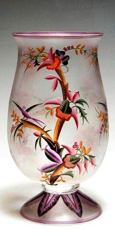 Vase, um 1922 Haida, Fachschule - Oertel, Johann & Co., Haida (zugeschrieben)
