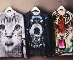 Dem animal sweatshirt <3