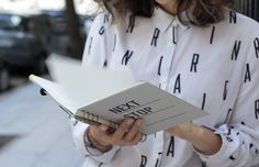LIVRÉ Cuadernos y libretas llenos de pequeños detalles, producidos a mano e impresos en letterpress. http://charliechoices.com/livre/