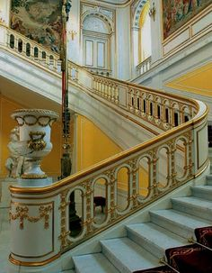 Christiansborg Palace, Copenhagen. Grand staircase