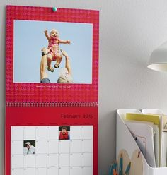 It's not too late to personalize a calendar with your favorite photos. Customize a day as an important reminder. | Shutterfly