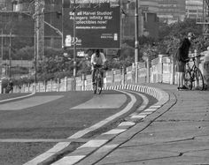 Down town the city with bicycle Street Photography Jakarta