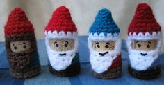 Cork and Crochet Gnome free pattern
