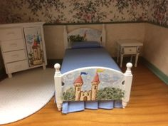 Hand painted Castle Furniture, by Sherry