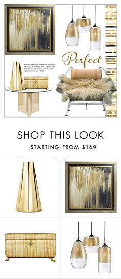 """""""Perfect Chair"""" by pat912 on Polyvore featuring interior, interiors, interior design, home, home decor, interior decorating, Georg Jensen, Universal Lighting and Decor and polyvoreeditorial"""