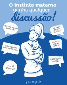 A gente ouve palpites de montão, mas o amor pelos filhos é sempre maior que tudo! #maternidade #gravidez #amordemae #gravidez