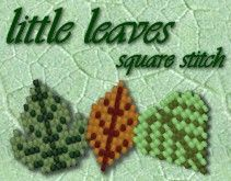 Little Leaves Pattern Pack - Square Stitch - Item Number 10431