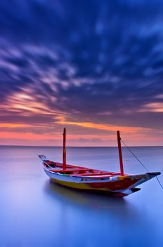 Boat long exposure