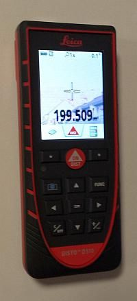 Disto D510 lange Distanz Zielsucher Calculator, Distance, Knives