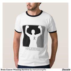 Brain Cancer Winning Survivor T Shirt