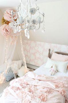 Vintage little Girls Room Reveal - Rooms For Rent blog
