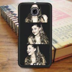 Ariana Grande Beautiful Smile Collage Nexus 6 Case
