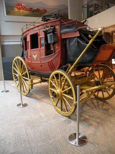Wells Fargo History Museum-QCord Retractable Barriers. www.artdisplay.com #stanchions #barriers #artdisplay