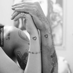 This partner tattoo will melt your heart!