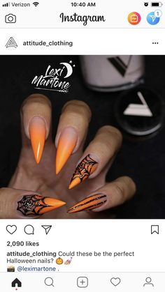Super Stylish #Halloween #Nails That Will Blow Your Mind