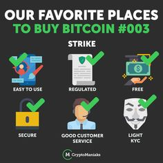 Strike is only available in the USA at the moment but it's probably the best way to buy small amounts of BTC using LN strike Buy Bitcoin, Blockchain, Good Things, Posts, In This Moment, Education, Usa, Stuff To Buy, Messages