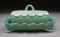 Lauren Smith I enjoy butter dishes click the image or link for more info. Pottery Pots, Ceramic Pottery, Ceramic Art, Ceramic Butter Dish, Slab Ceramics, Advanced Ceramics, Lauren Smith, Ceramic Boxes, Pottery Designs
