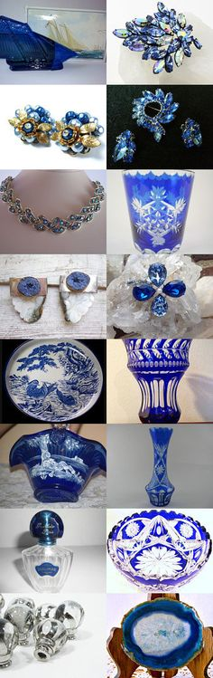 Crystal Blue Persuasion - An Epsteam Treasury by Dondi on Etsy--Pinned with TreasuryPin.com