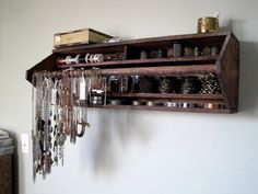 tool box wall shelf