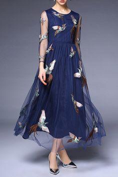 Animal Round Neckline Casual Lace Maxi Shift Dress Long Sleeve Plus Dress Plus Dresses, Casual Dresses, Fashion Dresses, Summer Dresses, Maxi Dresses, Evening Dresses, Pretty Dresses, Beautiful Dresses, Dress Skirt