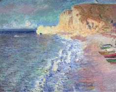 Claude Monet - Matin à Étretat                                                                                                                                                     More