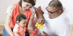 Check out five tips that can help parents become their baby's first teacher for learning listening and spoken language.