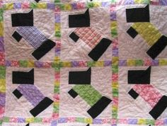 Looking for quilting project inspiration? Check out Scottie Baby  Quilt by member Bamabunny. - via @Craftsy