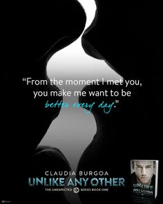 Silence Is Read: #Teaser from UNLIKE ANY OTHER by Claudia Burgoa