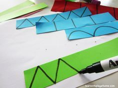 Learn with Play at home: Cutting Practice & Learning Shapes