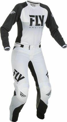 Fly Racing Womens Neon Pink//Black Lite Dirt Bike Jersey /& Pants Kit Combo ATV MX