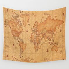 Trans ocean imports liora manne frontporch border patrol indoor world map leather wall tapestry gumiabroncs Choice Image