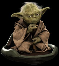 Full disclosure: I've wanted a little green guru on my back, swinging the wisdom bat for 35 years now. I'm also ignorant to any canon deta...