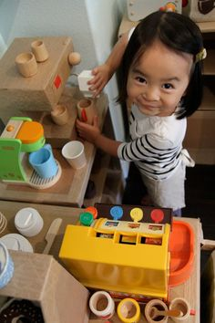 Kiddie Cafe Made From Cardboard. Gallery