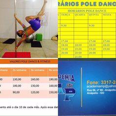 Faça algo diferente e divertido para ficar em forma!! Venha conhecer o pole fitness!!! Nosso novo endereço é na Academia MP. Aguardamos todas vocês!!! by rayane_siqueira88 http://ift.tt/1UetMMR