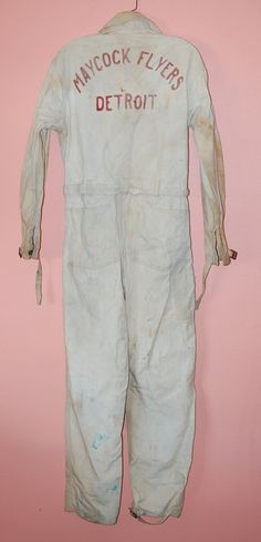 Coveralls, classic and elegant, really.