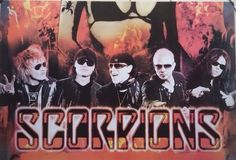 SCORPIONS Rocker Band Vintage Poster#1 Classic Wall Art Home/Office Decorate NEW #Vintage