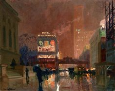 urgetocreate: Charles Hoffbauer, New York Public Library