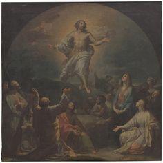 The Ascension of The Lord / La Ascensión del Señor // 1769// FRANCISCO BAYEU Y SUBÍAS // #Jesus #Christ