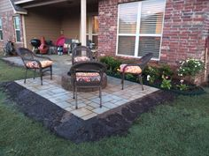 Backyard Patio Project #handmade #crafts #HowTo #DIY