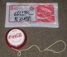 Le Rollin' YoYo Coca Cola! que de souvenirs a l'ecole!!!!!